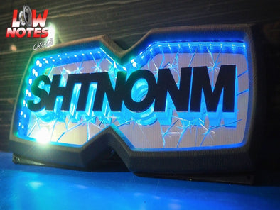 SHTNONM- CUSTOM HANDMADE L.E.D. SIGN