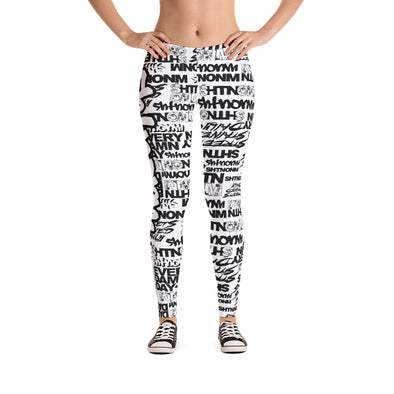 SHTNONM - LEGGINGS (WHITE/WHITE)