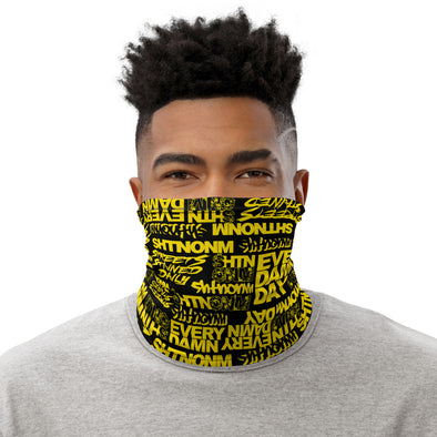 Black/Yellow Face Mask/Neck Gaiter