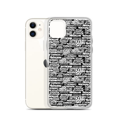 SHTNONM - Black  iPhone Case