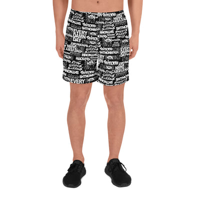 SHTNONM - Black Men's B-ball Shorts