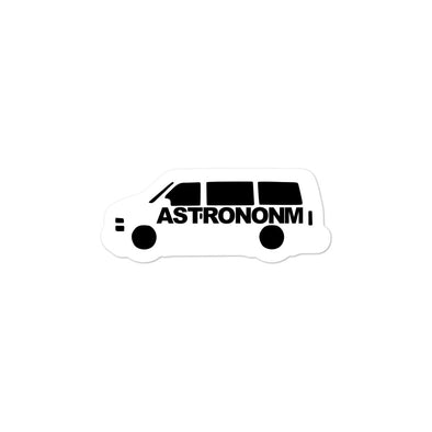 ASTRONONM Bubble-free Decal (White)