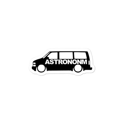 ASTRONONM Bubble-free Decal (Black)