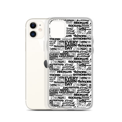 SHTNONM - White iPhone Case