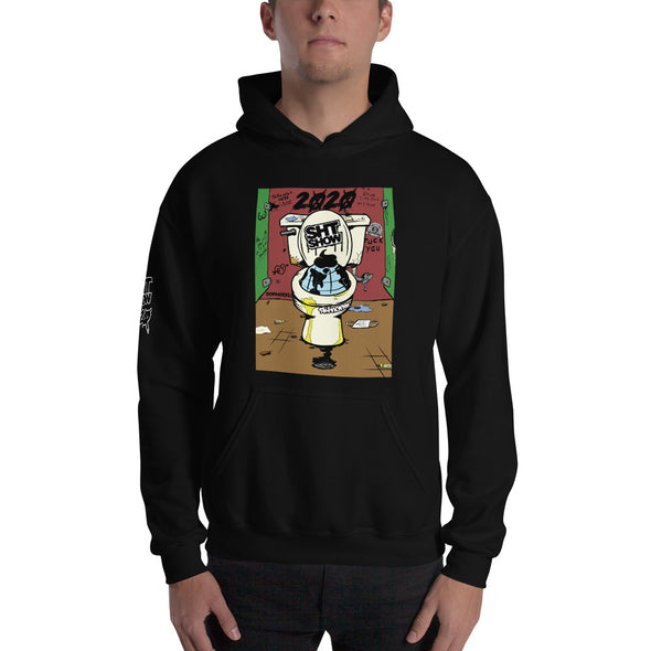 SHT SHOW 2020 - Down The Crapper Hoodie (3X-5X)