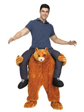 Cuddly Bear Ride on Costume