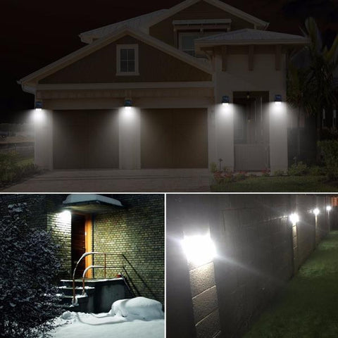 LED Solar Wall Lights