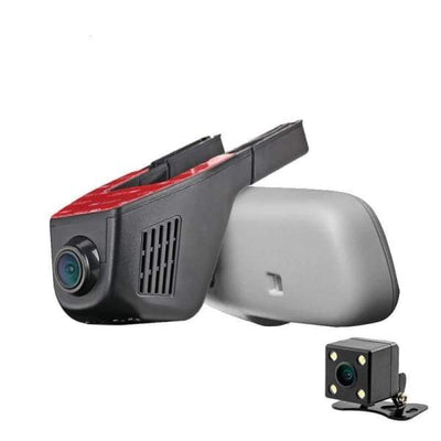 1080P WiFi DVR Dash Cam - DVR/Dash Camera - Front + Rear Camera / With 8G Card - 1080p-wifi-dvr-dash-cam