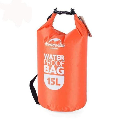iWantZone.com-2L Waterproof Dry Bag-River Trekking Bags-iWantZone.com-15L Orange-