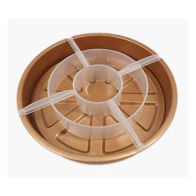 iWantZone.com-3 in 1 Copper Mold Cake Pan-Cake Molds-www.iWantZone.com-