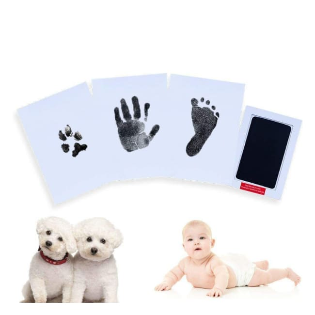 Iwantzone.com - Baby Hand & Footprint Inkless Ink Pad - Grooming & Healthcare Kits - Newborn-Handprint-Footprint-Inkless-Ink-Pad