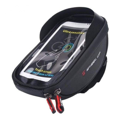 Iwantzone.com - Bicycle Phone Holder & Storage - Bicycle Bags & Panniers - Black - Bicycle-Phone-Holder-Storage