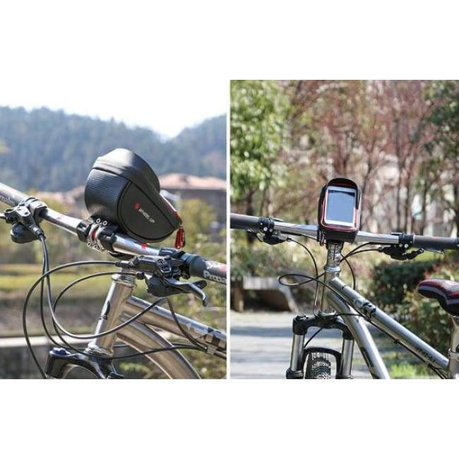 Bicycle Phone Holder & Storage - Bicycle Bags & Panniers - bicycle-phone-holder-storage