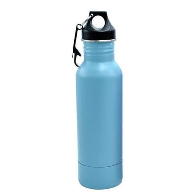 iWantZone.com-Bottle Beer Cold Keeper with Opener-Vacuum Flasks & Thermoses-www.iWantZone.com-Light Blue-