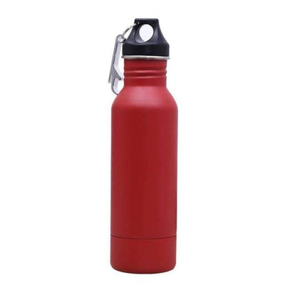 iWantZone.com-Bottle Beer Cold Keeper with Opener-Vacuum Flasks & Thermoses-www.iWantZone.com-Red-