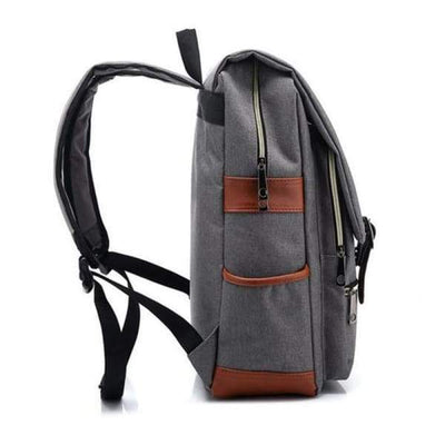 Iwantzone.com - Canvas Backpacks - Canvas-Backpacks-For-Laptop-Large-Capacity-Computer-Bag-Casual-Student-School-Bagpacks-Travel-Rucksacks