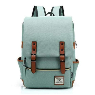 Iwantzone.com - Canvas Backpacks - Teal -