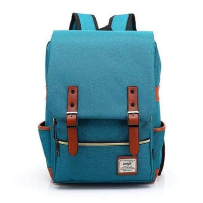 Iwantzone.com - Canvas Backpacks - Turquoise -