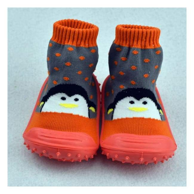 Cute Anti-Slip Baby Socks - Socks - Cute Penguin / 3M - cute-anti-slip-baby-socks