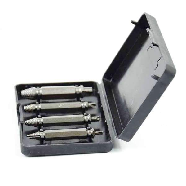 Damaged Screw Extractor & Bolt Extractor Set - Drill Bits - damaged-screw-extractor-bolt-extractor-set