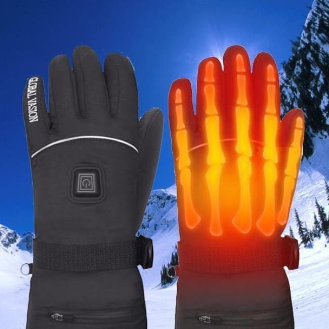 Electric Heated Gloves - Smart Accessories - polar-gloves-electric-heated-gloves