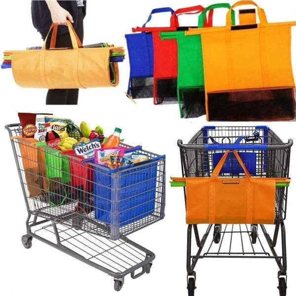 Foldable shopping trolley Bags - Shopping Bags - shop-smart-foldable-bags