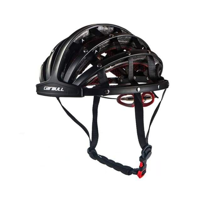 Folding Helmet - Bicycle Helmet - Black - folding-helmet