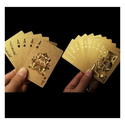 Iwantzone.com - Gold Playing Card - Magic Tricks - Gold-Playing-Card