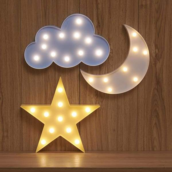 Kids Dream star cloud and moon Lights