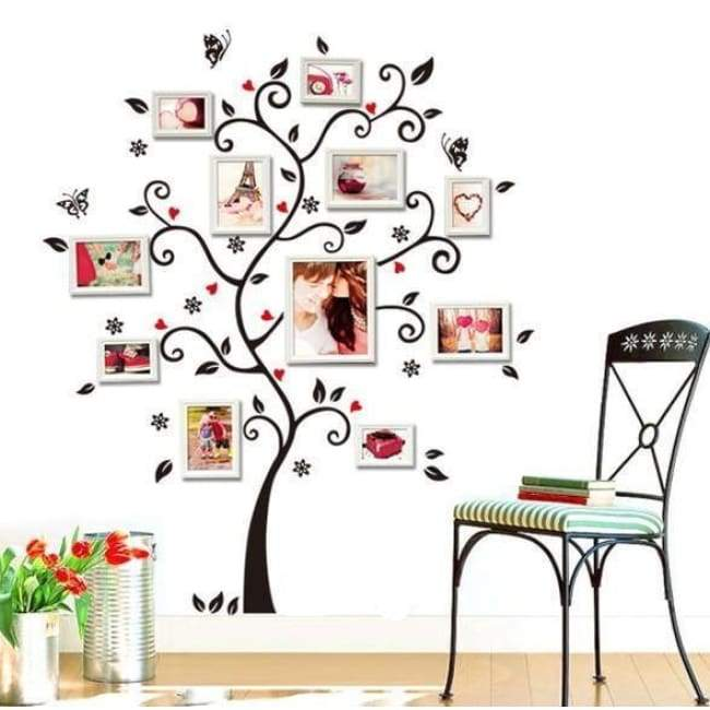 Large Family Tree Wall Decal - Decorations - large-family-tree-wall-decal