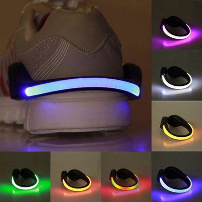 Iwantzone.com - Led Luminous Shoe Clip - Novelty Lighting - Led-Luminous-Shoe-Clip
