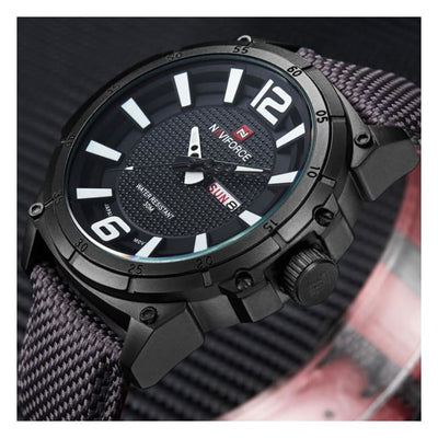 Iwantzone.com - Luxury Mens Nylon Strap Sports Wristwatch - Luxury-Mens-Nylon-Strap-Sports-Wristwatch
