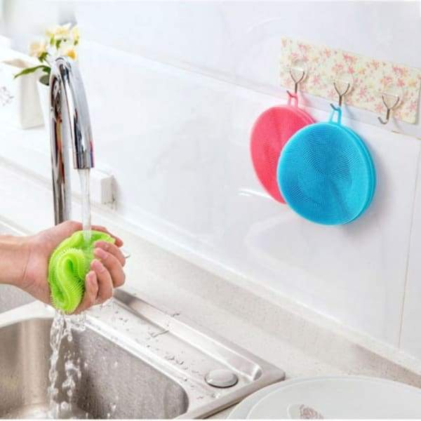 Magic silicone cleaning sponge - Cleaning Brushes - magic-cleaning-sponge