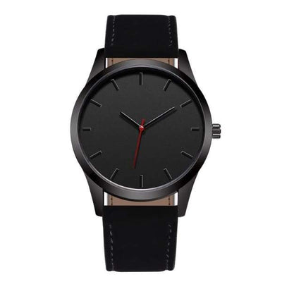 iWantZone.com-Men Leather Sports Watch-Quartz Watches-www.iWantZone.com-