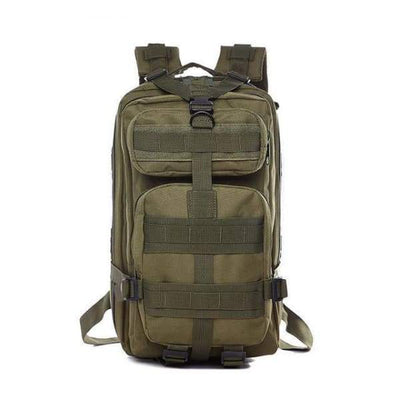 Iwantzone.com - Military - Hiking Backpack - Army Green / 35L - Military-Hiking-Backpack