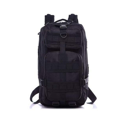 Iwantzone.com - Military - Hiking Backpack - Black / 35L - Military-Hiking-Backpack
