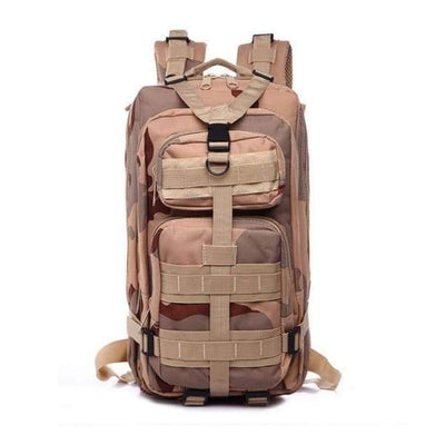 Iwantzone.com - Military - Hiking Backpack - Desert Camouflage / 35L - Military-Hiking-Backpack