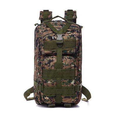 Iwantzone.com - Military - Hiking Backpack - Jungle Green / 35L - Military-Hiking-Backpack