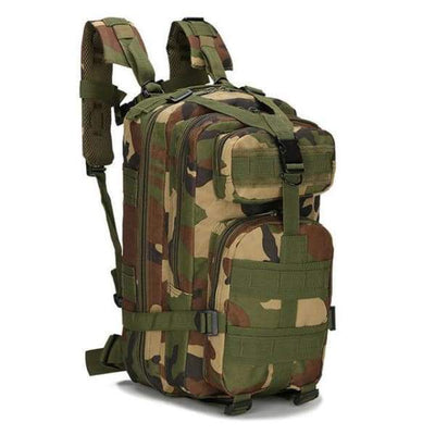 Iwantzone.com - Military - Hiking Backpack - Woodland / 35L - Military-Hiking-Backpack