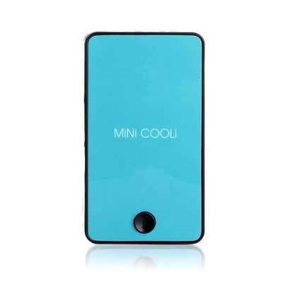 iWantZone.com-Mini Portable Handheld Air Fan-Fans-www.iWantZone.com-Blue-