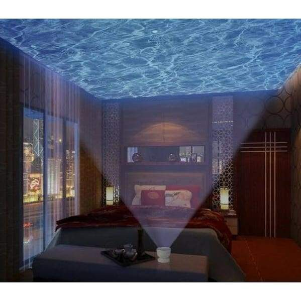 Ocean Wave effect light projector and speaker - Night Lights - ocean-waves-projector