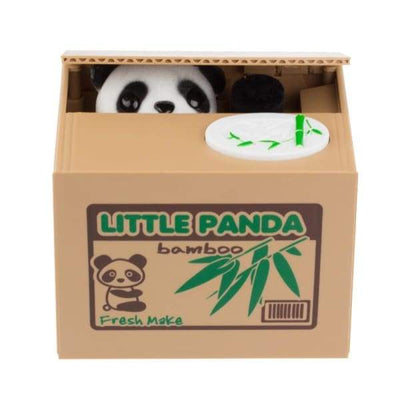 Iwantzone.com - Panda Thief Money Box - Money Boxes - Panda-Thief-Money-Box