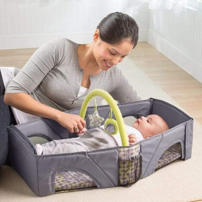 Iwantzone.com - Portable Folding Baby Crib - Baby Cribs - Portable-Folding-Baby-Crib