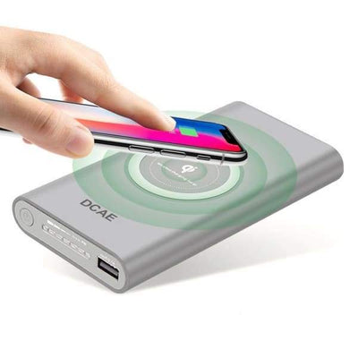 Portable Power Bank Wireless Charging Pad - Wireless Chargers - portable-power-bank-wireless-charging-pad