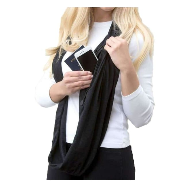 Scarf With Pocket - Scarves - scarf-with-pocket