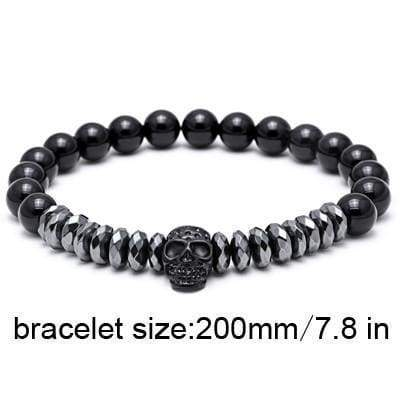 Skull Bracelet Collection - 200mm - skull-bracelet-collection