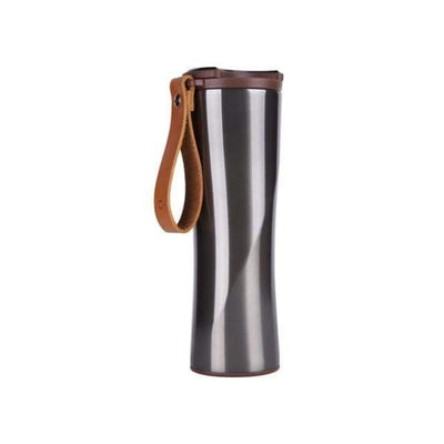 iWantZone.com-Stainless Steel Vacuum Water Bottle-Vacuum Flasks & Thermoses-www.iWantZone.com-Gray with Filter-