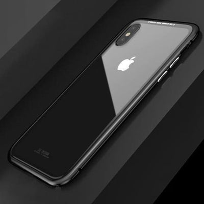 Iwantzone.com - Ultra Magnetic Iphone Case - Fitted Cases - For Iphone X / Black Clear - Ultra-Magnetic-Phone-Case