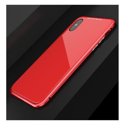 Iwantzone.com - Ultra Magnetic Iphone Case - Fitted Cases - For Iphone X / Full Red - Ultra-Magnetic-Phone-Case
