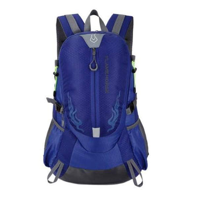 Waterproof Hiking Backpack Collection - Bright Blue - waterproof-hiking-backpack